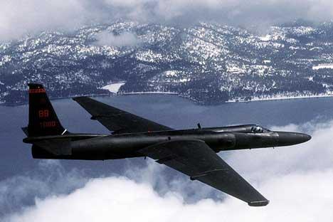 飛行中のU-2 写真提供:wikipedia.org