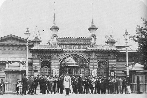 サンクトペテルブルク動物園、1910年。