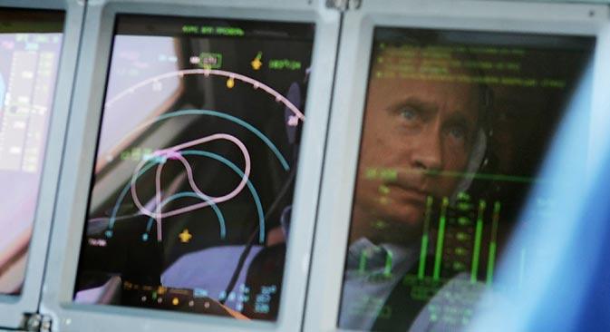 プーチン大統領は非常事態を自ら収拾する。=ロシア通信撮影