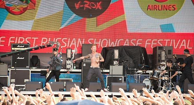 世界的な音楽の危機を背景に、ロシア人ミュージシャンには、ローカルなアジア市場へ進出するまたとないチャンスがあるとみている =グレブ・フョードロフ撮影