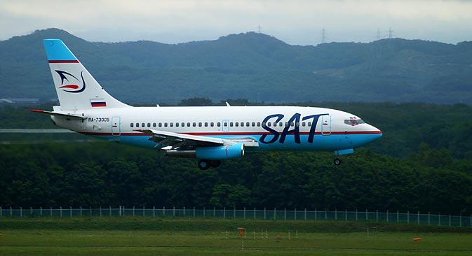 サハリン航空によると、新会社の名称はまだ定まっていない。=Press Photo撮影