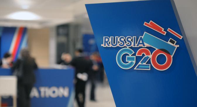 首脳会議の主要な議題は経済成長の減速になる =ロシア通信撮影