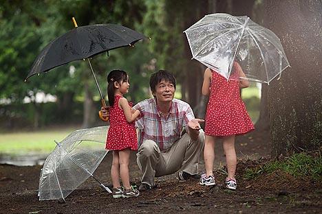日本の中野量太監督の映画「チチを撮りに」 =Press photo撮影