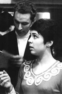 1970年のロドニナと当時のパートナー、アレクセイ・ウラノフ  写真提供:wikipedia.org