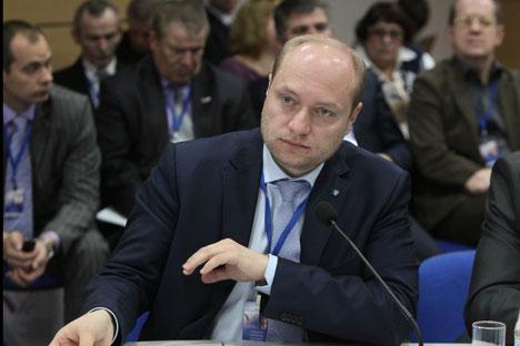 ウラジーミル・プーチン大統領は11日、アレクサンドル・ガルシカ氏を極東発展相に任命した =ロシア通信撮影