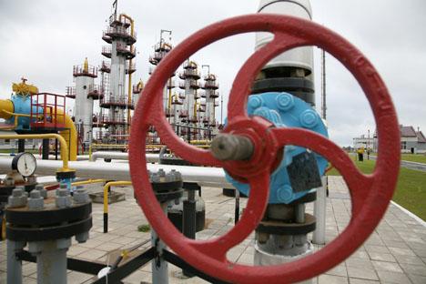 現在、ロシアが販売するLNGの77.5%が日本向けとなっている=タス通信撮影