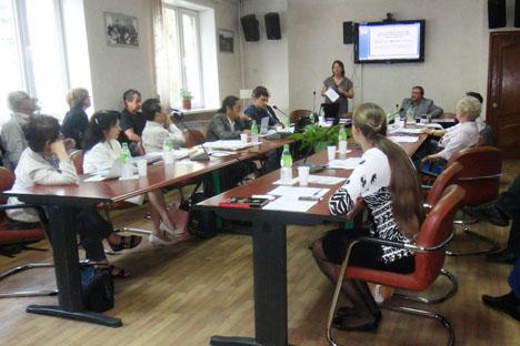 19回目のシンポジウムには、ロシア科学アカデミー極東分院・極東民族歴史考古民俗学研究所が参加した=写真提供:ihaefe.org