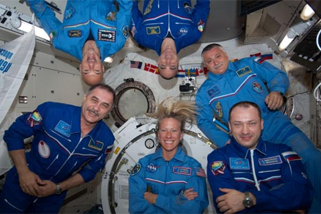 ISS第36次クルー 写真提供:nasa.gov