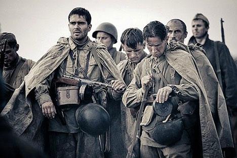 ウラジーミル・メジンスキー文化相は、アメリカで行われる第86回アカデミー賞への出品作として、フョードル・ボンダルチュク監督の「スターリングラー ド」が選ばれたことを発表した=写真提供:kinopoisk.ru