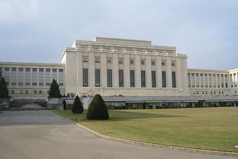 国際連盟本部が置かれたパレ・デ・ナシオン。=写真提供:Yann Forget