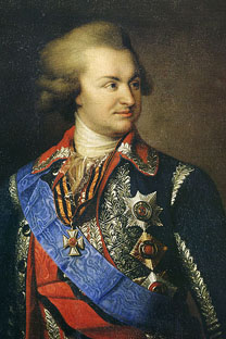 政治家、軍人のグリゴリー・ポチョムキン 画像提供:wikipedia.org