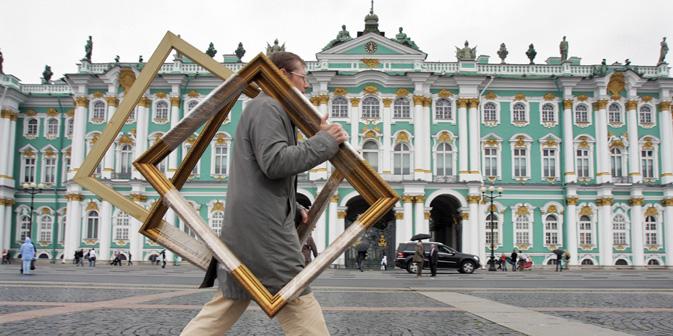 美術館や博物館からの盗難作品数で、ロシアはフランス、イタリアとドイツを凌駕している。=PhotoXPress撮影