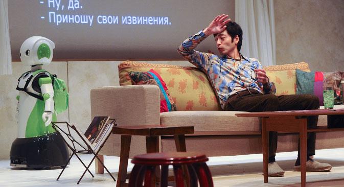 アレクサンドル・セルバーク撮影/コメルサント紙