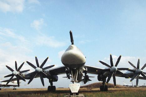 Die Tu-95 war das erste interkontinentale Bombenflugzeug der Sowjetunion und eines der lautesten Flugzeuge der Welt. Foto: ITAR-TASS