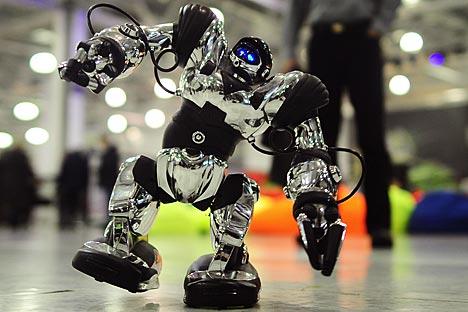 第1回イルクーツク・ロボット技術祭「ロボシブ(RoboSib)」=Press photo撮影