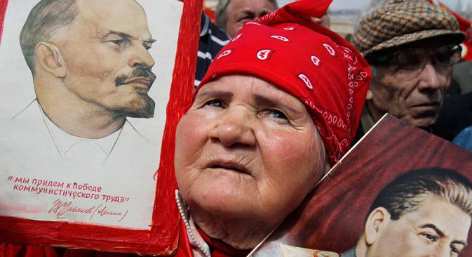 ロシア連邦共産党(CPRF)は、現代ロシアで二番目に力がある政党だ=ロイター通信撮影