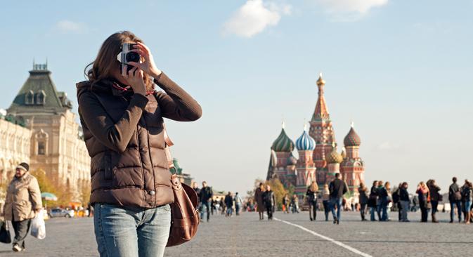 ロシアは最近旅行先人気トップ10入りしており、世界の観光業界での影響力が強くなっている=Getty Images/Fotobank撮影