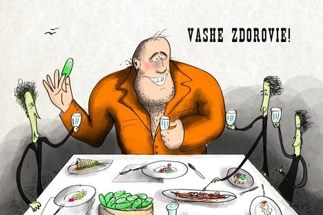 「あなたの健康!」とか「きみの健康!」と言うのは、厳密に言えば、乾杯の挨拶ではない=ニヤズ・カリム