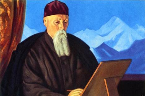 ニコライ・リョーリフ肖像=画像提供:roerich-museum.org