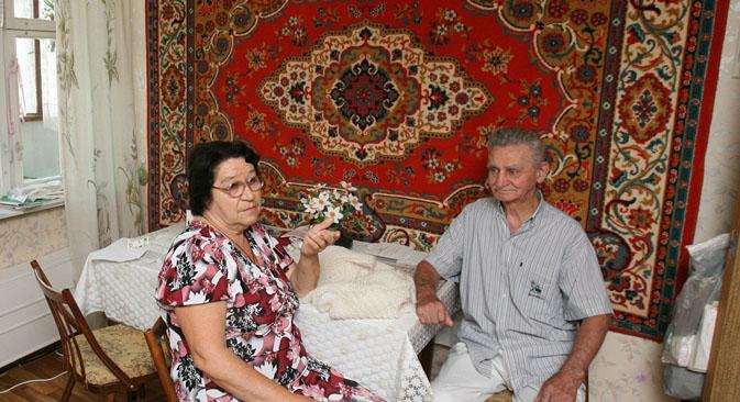 ソビエト連邦では、カーペットは日常必需品の1つとなった=PhotoXPress撮影