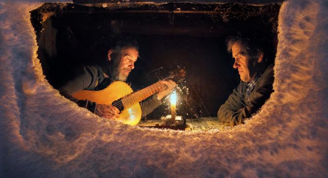 ロシアには、マイナス40℃が普通の冬の気温という場所がある=セルゲイ・マクリン撮影