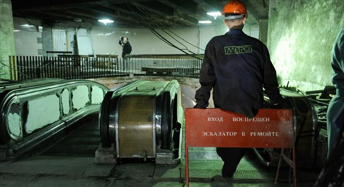 モスクワには、政府の地下シェルターや秘密の地下鉄について、多くの都市伝説がある=PhotoXPress撮影