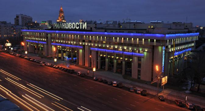 新たな通信社は、既存の新聞社「ロシア通信」とラジオ局「ロシアの声」の合併によって創設される=ラミリ・シトディコフ撮影/ロシア通信