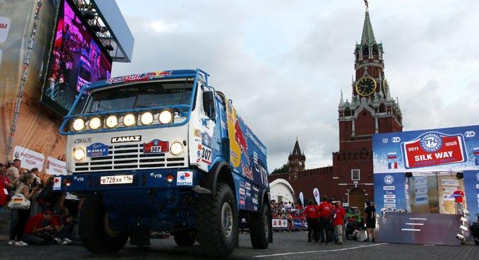 2013年はロシアのモータースポーツにとって、史上もっとも成功した年だっただろう=タス通信撮影