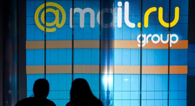 IT大手のMail.Ruグループは、スタートアップMy.comを携えて国際市場へ乗り込むことを決めた=タス通信撮影