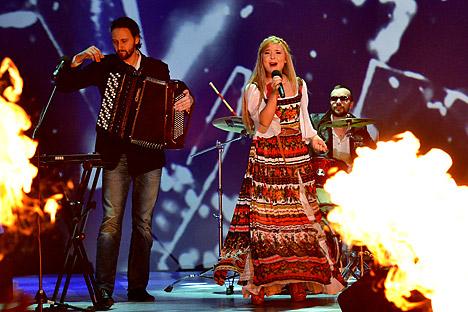 ロシア民謡歌手ペラゲヤ=ロシア通信