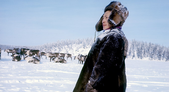 ユカギル人は、新石器時代から東シベリアに暮らしている先住民族=ロシア通信撮影