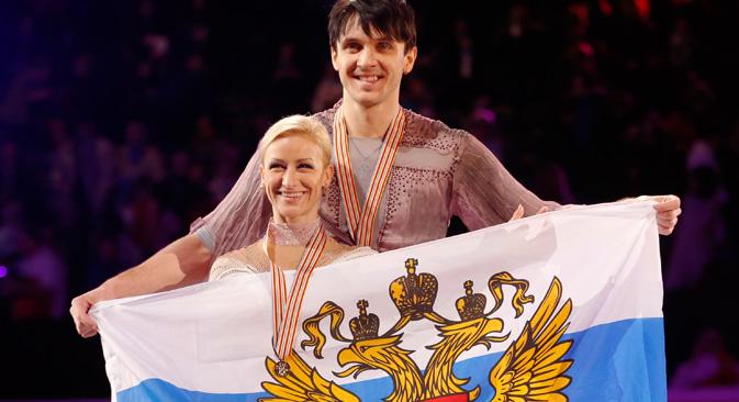 フィギュアスケート男子シングルのソチ冬季五輪ロシア代表は、エフゲニー・プルシェンコ=Imago/Legion Media撮影