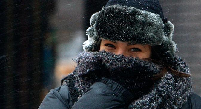 Peça que se popularizou pelo uso militar está na cabeça de muitos russos durante o inverno gelado do país Foto: Reuters
