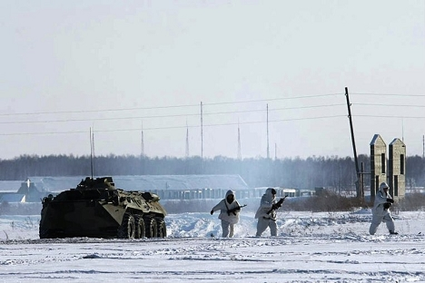 写真提供:中央軍管区のプレスサービス