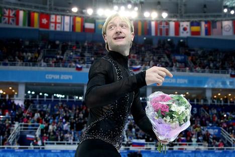 プルシェンコは健康状態が良くなったら、自身のアイスショーを行う予定=Getty Images/Fotobank撮影