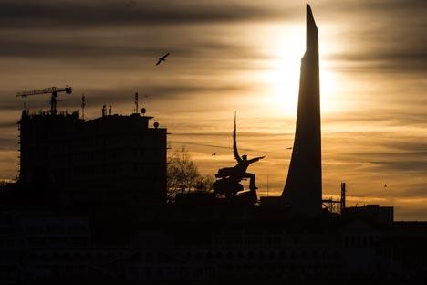 セヴァストーポリ市=セルゲイ・サヴォスティアノフ撮影/ロシースカヤ・ガゼタ紙