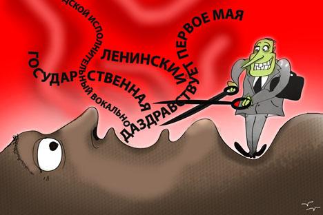 ロシア人の現代の生活は、略語から成り立っていると言っても過言ではない=ニヤズ・カリム