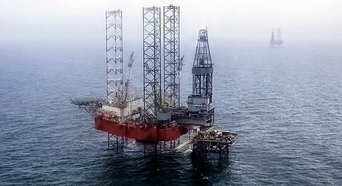 クリミア政府は、石油・ガス会社「チェルノモルネフチェガス」を公営化し、その後ロシアに売却する計画を立てている=Getty Images/Fotobank撮影