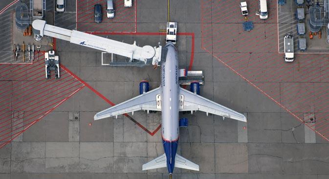 Das russische Verkehrsministerium schafft Startbedingungen für die Einführung von Billigfliegern. Foto: DPA/Vostock Photo