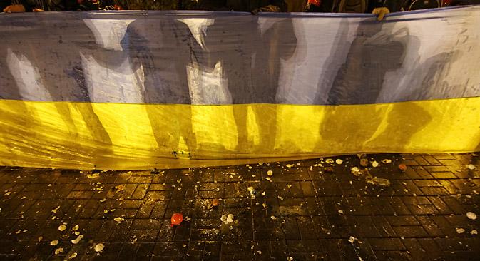 Russland will aus der Ukraine einen föderalen Staat machen. Foto: Reuters