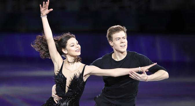 アイスダンスのエレーナ・イリイヌィフとニキータ・カツァラポフ組=Imago/Legion Media撮影