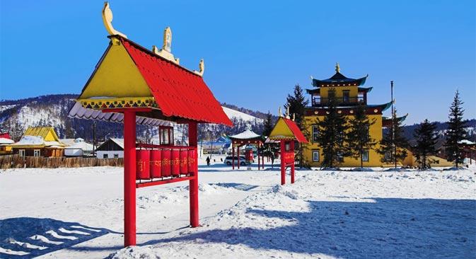 シベリアの奥座敷ウラン・ウデは、ロシアの仏教の中心として知られる=Legion Media撮影
