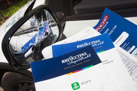 輸送機関所有者民事責任義務保険では、死亡事故で最大16万ルーブル(約48万円)の賠償が定められている。=PhotoXPress撮影