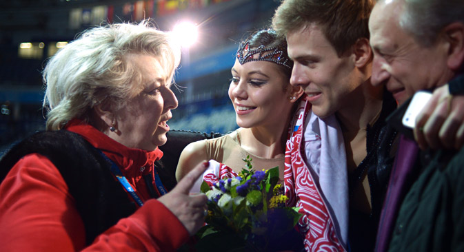 イリイヌィフ・カツァラポフ組=グリゴーリー・シソーエフ撮影/ロシア通信