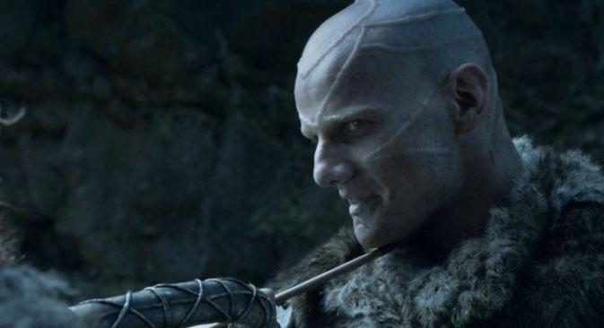 ロシアの俳優ユーリ・コロコリニコフは、ゼン族の族長スターとして登場する。=写真提供:HBO