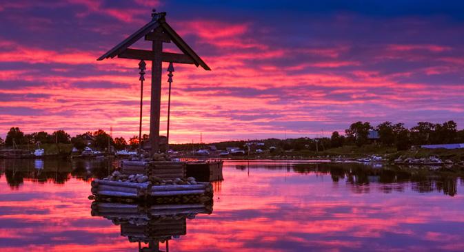 ソロヴェツキー諸島=Getty Images撮影