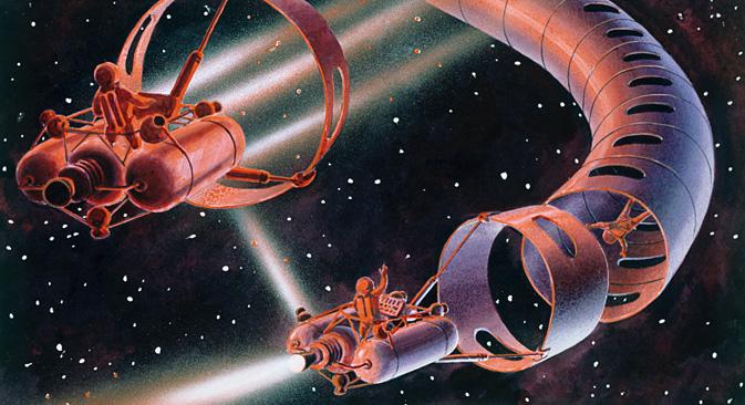 「宇宙のドライバー」=ロシア通信撮影