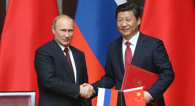 Der Staatsbesuch Putins in China könnte der Beginn einer Annäherung sein. Foto: Konstantin Sawraschin / Rossijskaja Gaseta