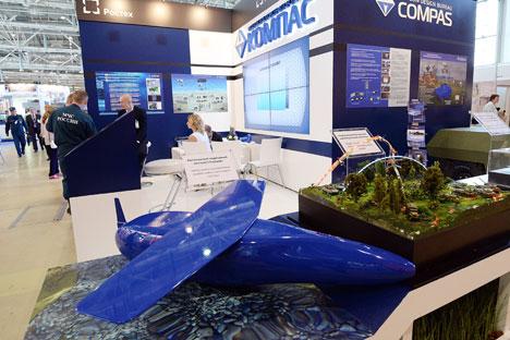ロシア海軍総司令部の関係筋はこう話す。「無人機は空中だけではなく、海洋活動や沿岸部隊の効率を高めるために、水中でも使われるようになる」=セルゲイ・クゼネツォフ撮影/ロシア通信