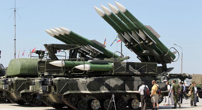 地対空ミサイル・システム「ブーク」=ロシア通信